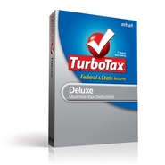 Intuit Download - TurboTax Deluxe Federal + E-File
