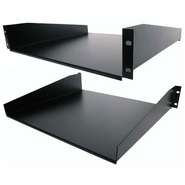 Standard Universal Server Rack Cabinet Shelf - Bla