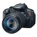 Canon EOS Rebel T5i - Digital camera 18 MP 7.5X Op