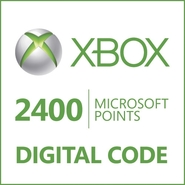 Microsoft Corporation Xbox LIVE 2400 Points Prepai