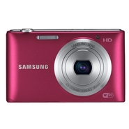Samsung ST150F 16.2 MP Digital Camera - Red