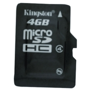 4 GB Class 4 microSDHC Memory Card-Dell Only