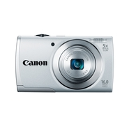 Canon PowerShot A2500 Digital - 16 MP Camera - Sil
