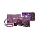 Nikon Coolpix S5200 Plum - 16.0 Mpix - 6 x Optical