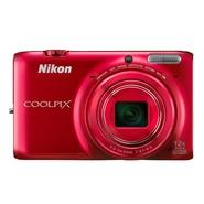Nikon Coolpix S6500 16.0 MP 12 X Optical Zoom 3D C