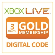 XBOX LIVE Prepaid 3 Months Gold Membership Online