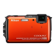 Nikon Coolpix AW110 Waterproof Digital - 16 MP Cam