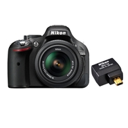 Nikon D5200 24.1 MP Digital SLR Camera with 18 - 5