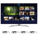 Samsung 60-inch LED Smart TV - UN60F7100 3D HDTV w
