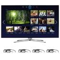 Samsung 60-inch LED Smart TV - UN60F7100 3D HDTV w