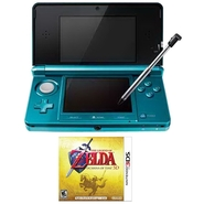 Nintendo 3DS Handheld Game Console and The Legend