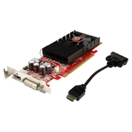Radeon HD4350 PCIe 512MB HDMI SFF-Short + Tall bra