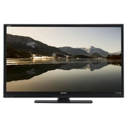 Sharp LC 50-inch Aquos LED-backlit LCD TV - 1080p