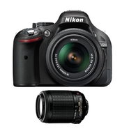 Nikon D5200 24.1 MP Digital SLR Camera with AF-S D