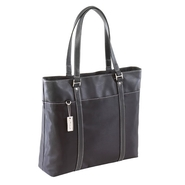 TARGUS LADIES DELUXE TOTE BLACK NYLON 15 SCREEN