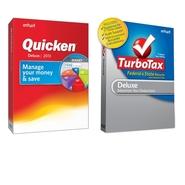 DL -Quicken Dlx 2013 & DL -TurboTax Dlx W/State TY