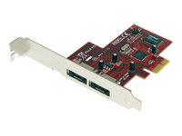 2-Port PCI Express eSATA Controller Adapter Card