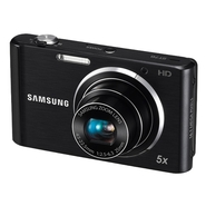 Samsung ST76 Black 16.1 MP 5X Zoom Digital Camera