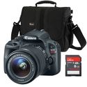 Canon EOS Rebel SL1 18.0 MP 3 X Optical Zoom Digit