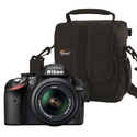 Nikon D3200 24.2 MP Digital SLR Camera with 18-55