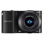 Samsung NX1000 Black 20.3 MP Compact System Camera
