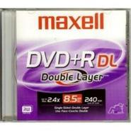 1 x DVD+R DL 8.5 GB 2.4x - jewel case - storage me