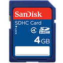 Sandisk 4GB SDSDB-004G SDHC Card (CRD-S-RT) Retai