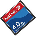 Sandisk 4GB SDCFB-4096 or SDCFJ-4096 CF Compact F