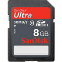 Sandisk 8GB Ultra SDSDU-008G SDHC Card 30MB/sec (
