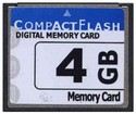 4GB 50p CF CompactFlash Card 20/13 MBs 135x with 
