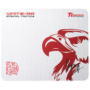White-Ra W Mouse Pad
