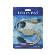 USB TO PS2 2X