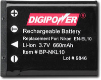- NKL10 Rechargeable Lithium-Ion Battery