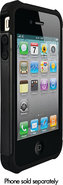 - Shell Gel Case for Apple iPhone 4 - Black