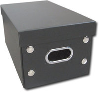 - Foldable CD Storage Box - Black