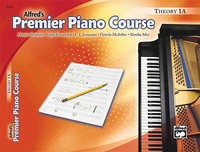 - Premier Piano Course Theory Book 1A Instructiona