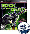 Rock of the Dead - PRE-OWNED - PlayStation 3