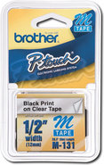 Brother - 1/2   Clear Tape for Select P-Touch Elec