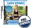 Let's Yoga - PRE-OWNED - Nintendo DS