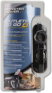 - Outlets To Go 4-Outlet Portable Power Strip