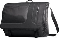 - Leverage Messenger Laptop Bag - Black