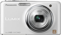 - Lumix FX78 121-Megapixel Digital Camera - White