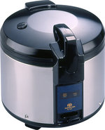 - 26-Cup Rice Cooker - Black/Silver