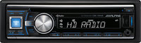 - 50W x 4 Apple iPod-Ready In-Dash CD Deck with Bu