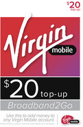 - Broadband2Go $20 Top-Up Card