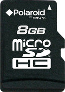 - 8GB microSDHC Class 4 Memory Card