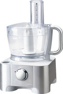 - 12-Cup Food Processor - Stainless-Steel