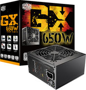 - GX 650-Watt ATX/EPS CPU Power Supply