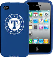 - Texas Rangers Case for Apple iPhone 4 - Blue