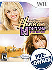 Hannah Montana: The Movie - PRE-OWNED - Nintendo W